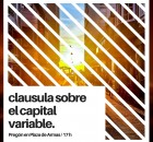 clausula sobre el capital variable.