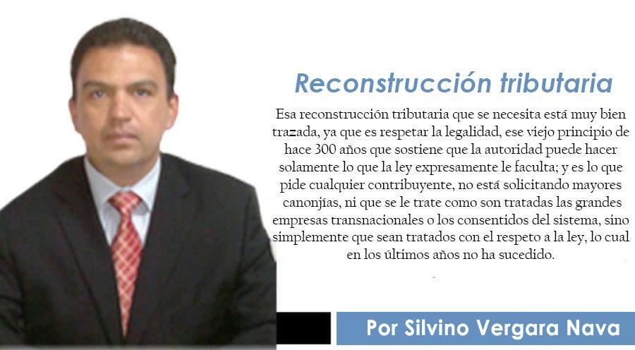 Reconstrucción tributaria